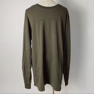 GLOBE Men's Aussie Brand Long Sleeve Tee Olive
